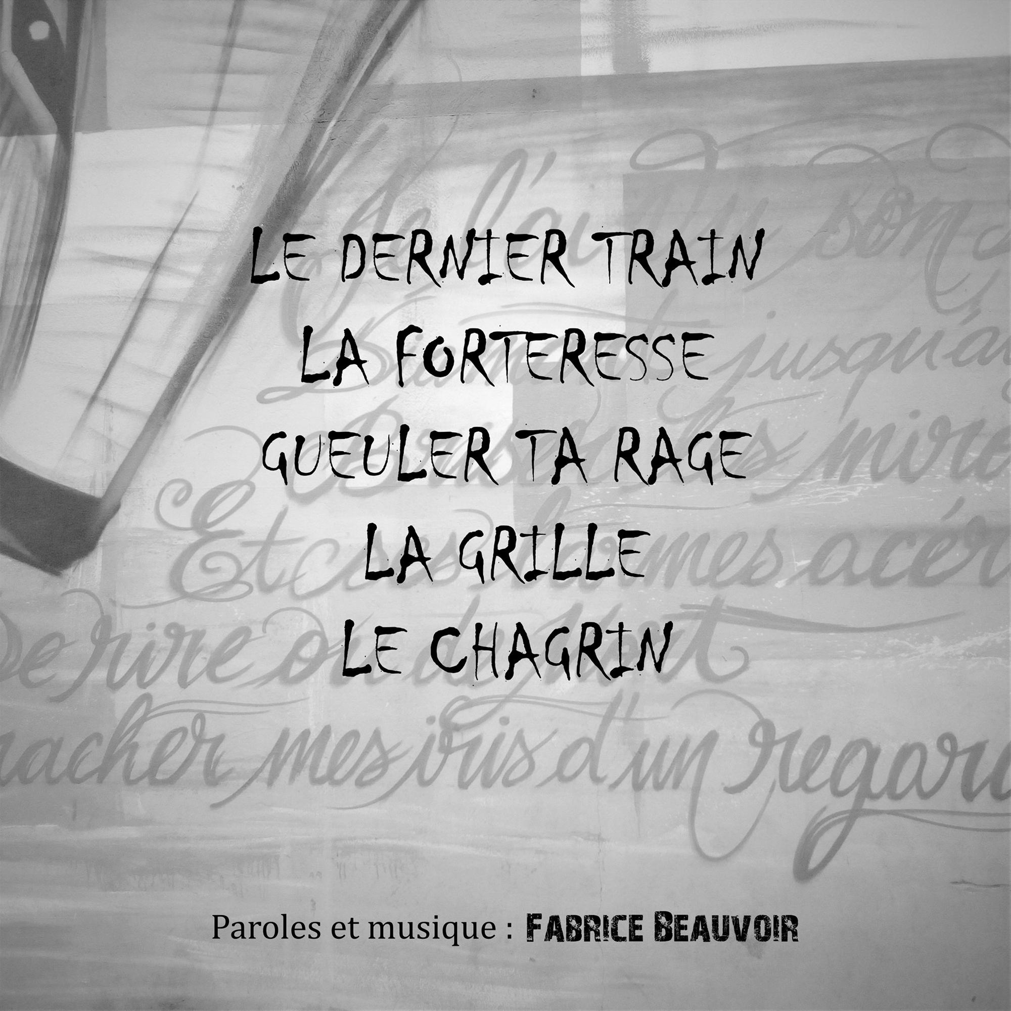 "Fabrice Beauvoir - EP ""La Forteresse"" Recto pochette"